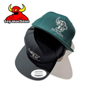 TOY MACHINE DEAD MONSTER BB CAP トイマシーン キャップ ワンポイント 刺繍 ベースボールキャップ 帽子 TMP20HW27