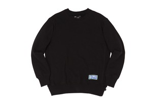 WHIMSY / ATHLETIC CREWNECK -BLACK-