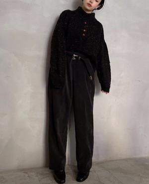 """alfred dunner"" vintage corduroy easy pants - sumikuro -"
