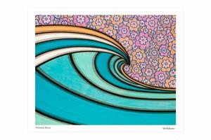 ジークレーアート/ Flowes Blue