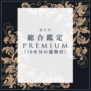 【鑑定書】総合鑑定PREMIUM(10年分の運勢付)