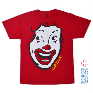 Tシャツ メンズUSED ロナルド マクドナルド M
