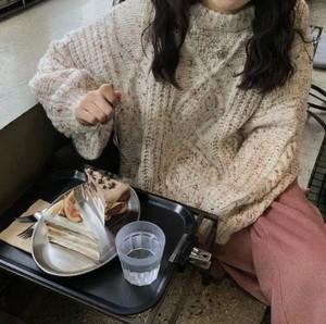 全2色♡ ミックスカラーニット♡
