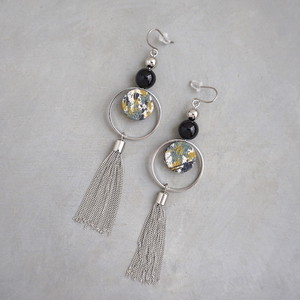 pierced earrings C-P01/earrings C-E01<silver>