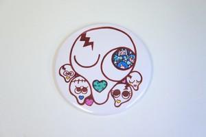 数量限定 tenbo × tsun コラボレーション缶バッチ