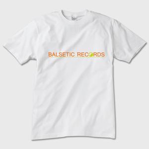 BALSETIC RECORDS オフィシャルTシャツ 白