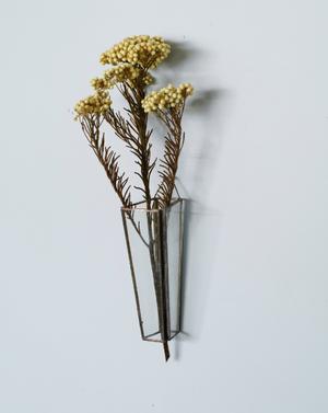植物器:trapezium vase〚ライスフラワー〛
