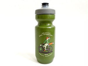 SWIFT INDUSTRIES campout 2018 water bottle (olive)