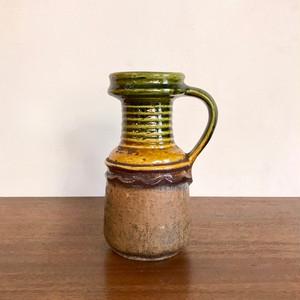 "Vintage W.Germany Pottery Vase ""STEULER"" 421/20 西ドイツ"