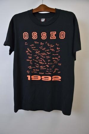 【Lサイズ】OSSEO 1992 TEE オッセオ 半袖Tシャツ BLACK 400601190758