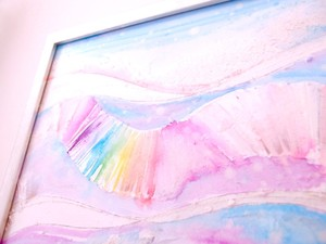 "◯ Love & Light 010 "" Joy "" { 水彩画 ART }"
