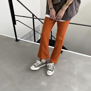 center seam flare PT/orange