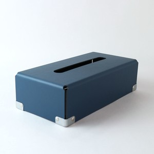 concrete craft (コンクリートクラフト)BENT Tissue box ネイビー W12,5 × D25 × H7cm パスコ ティッシュボックス 収納 Craft One