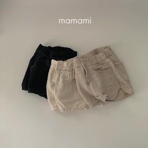 即納 mamami / ヘリンボーンSHパンツ