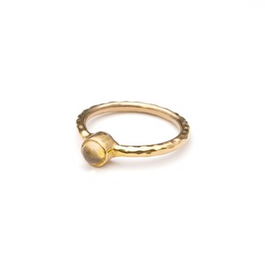 SINGLE PETIT STONE NON-ADJUSTABLE RING 075