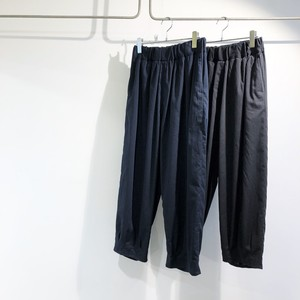 NO CONTROL AIR 【ノーコントロールエアー】 High twisted polyester & Linen tropical Wide tapered pants