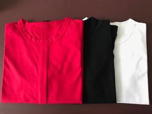 2.七分袖タックTシャツ