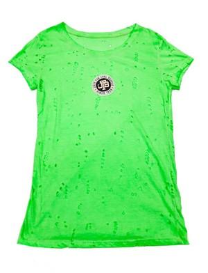 【JTB】 COLORE LOGO Tシャツ【蛍光グリーン】【新作】イタリアンウェア【送料無料】《M&W》