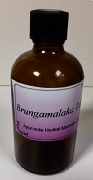 ブルンガマラカ タイラ 100ml 最高級品のアーユルヴェーダハーバルオイルをスリランカから直輸入