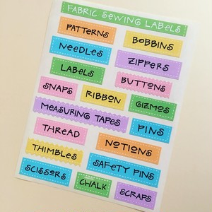 Sale!  Fabric Sewing Labels