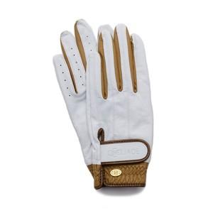 Elegant Golf Glove white-brandy