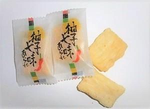 羽曳野米菓 ゆず七味おかき