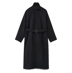 (JUHA) MAXI SLIT BELED COAT