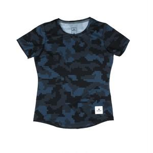 SAYSKY セイスカイ ランニングTシャツ Chicked Combat Tee - Pixel Camo ピクセルカモフラージュ EGRSS02 [レディーズ/ウィメンズ]