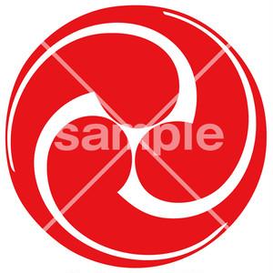 大徳寺 紋様落款 <MS015> 神紋・寺紋 はんこ (21mm 印鑑)