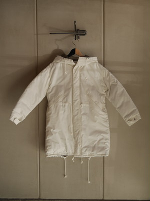 THE MERMAID / Mods Down Coat (WHITE)