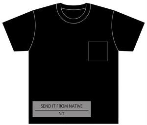 DCC2016 Tシャツ ブラック 胸ポケット付き