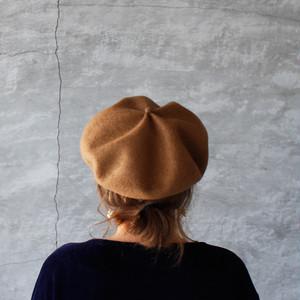 mature ha. beret top gather big mocha(マチュアーハ ベレー トップギャザー ビッグ モカ)送料無料