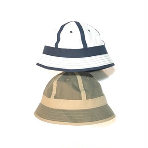 """ NOROLL "" SOFTEN HAT     (WHT×NVY)  (BRW×BEG)"