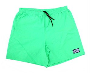 QUARTERSNACKS WATER SHORT NEON LIME L