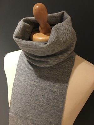 MIL NECK WARMER GRAY