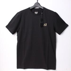 ENPORIO ARMANI エンポリオアルマーニ EA7 Tシャツ ブラック M[全国送料無料]r017371