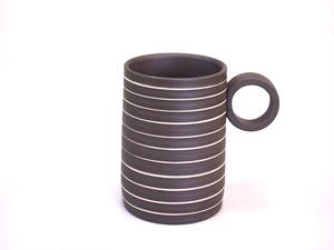 【常滑焼】マグカップ(ライン)