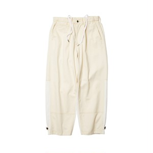 EVISEN STITCH DENIM PANTS  WHITE L