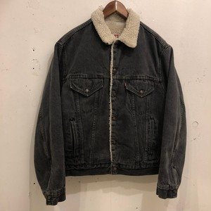 "Levi's Denim Boa Jacket""BLACK"""