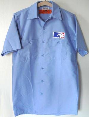 KBAワークシャツ(ブルー)