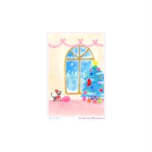 【選べるポストカード3枚セット】No.139 クリスマス