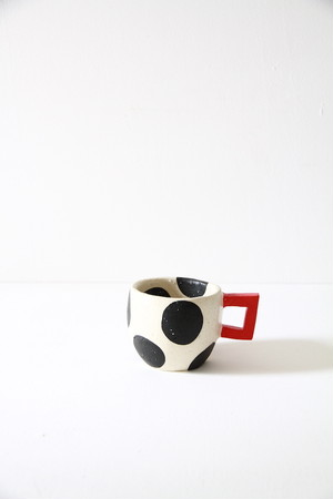 cup 水玉 black 02