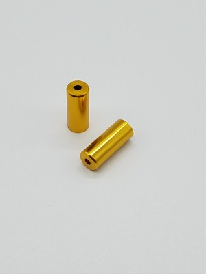 GIZA PRODUCTS(ブレーキ用)カラーアウターキャップ10個セット(ゴールド)