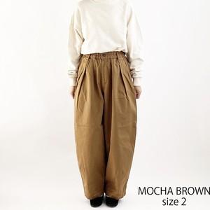 【HARVESTY】CHINO CIRCUS PANT (MOCHA BROWN) UNISEX ハーベスティ サーカスパンツ ユニセックス 日本製 MADE IN JAPAN