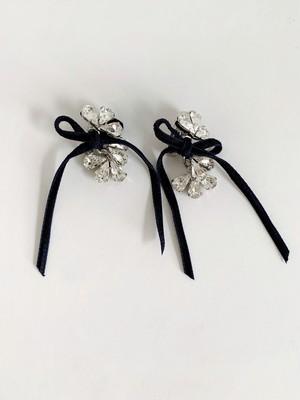 petite robe noire   Pierce/Earring(PRN1092p)