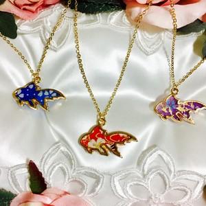 金魚ネックレス