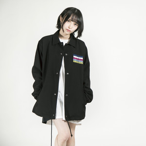 "/////2019 SPRING COLLECTION先行予約商品/////   ""Akebono"" Coach jacket Black"