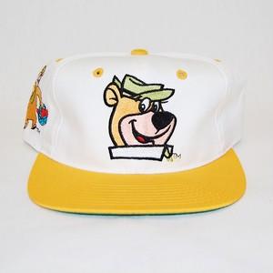 """Yogi Bear"" Vintage Snapback Cap Deadstock"