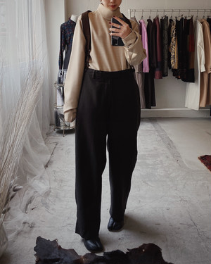 vintage remake suspender pants