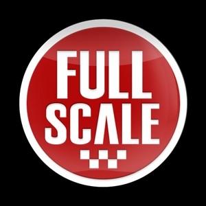 3Dゴーバッジ  8番  FULL SCALE RED2